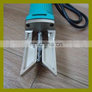 UPVC window door manual electric portable corner cleaning tool for removing external corner welding tumor