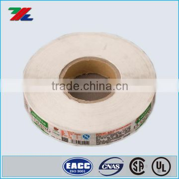 Wholesalers 17 years Experences for Paper Adhesive Label printed , Roll Paper Label sticker Custom deisgn printed from Xiamen