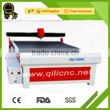 mdf screw making ql-1224 mini band saw cheap small label cutting machine metal mini cnc lathe