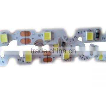 China factory supplier S shape 2835 led strip for advertising words