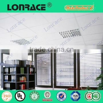 white styrofoam ceiling tiles