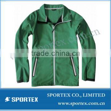 SPT-GS1315 jackets for men softshell, waterproof jackets for men, turndown collar jackets for men softshell
