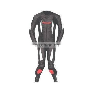 Leather Motorbike Racing Suit (L-S 006)