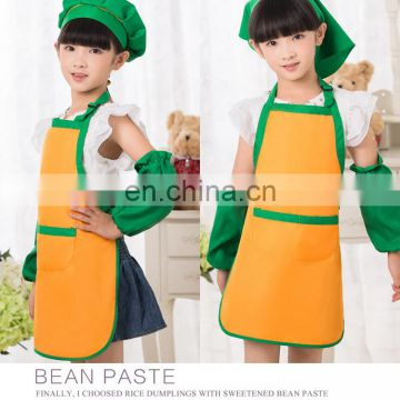 kids apron with custom logo for school event