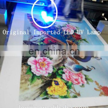 High definition phone cases printing machine prices, UV(two DX7) printhead flatbed printer
