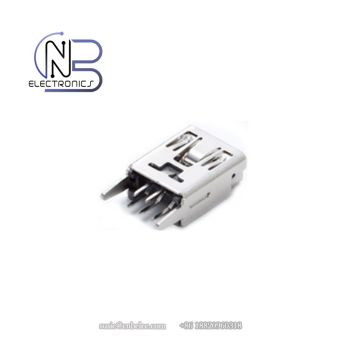 High quality mini USB Female connectors for android, audio equipment or electrronics
