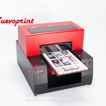 a4 size 6 colors best uv led flatbed printer price NVP2040
