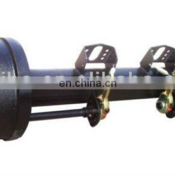 English type used trailer axle 13 ton with JAP stud