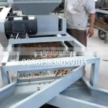 Three level sheller dehuller cracker remover machine