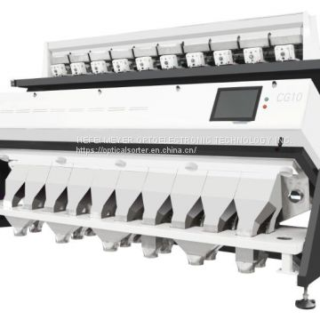 Peanuts Color Sorter Optical Sorting Machine for Nuts Processing Industry