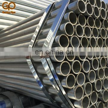 Good finishing galvanized pipe with customized size and good price