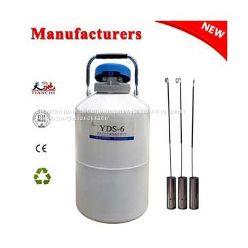 TIANCHI Liquid nitrogen container YDS-6L cryogenic dewars in MX