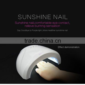 Real 48W Sun-Light 30pcs LEDS 5s Fastest Curing UV Gel LED Gel Nail Art Tool Nail Dryer UV Nail Lamp                                                                         Quality Choice