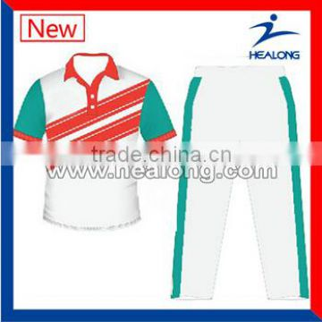 New Design High Quality Customized Cricket Jersey                                                                         Quality Choice