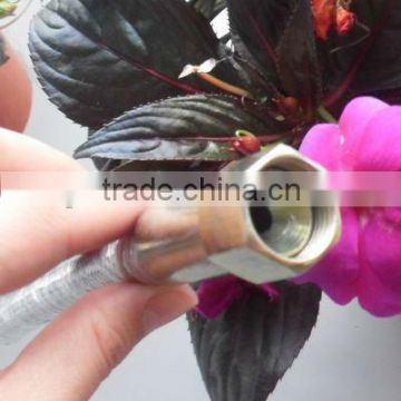 Hydraulic Hose Fittings High Pressure Tubing Hose Assembly Transfer the Hydraulic Oil Between the Hydraulic Pump Equipment