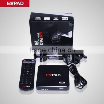 2016 Latest EVPAD Smart TV Box Support Free Thousands Of