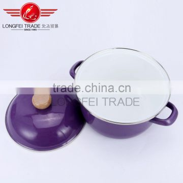 chinese supplier cheap high quality hot sale 3pcs enamel cookware set wholesale