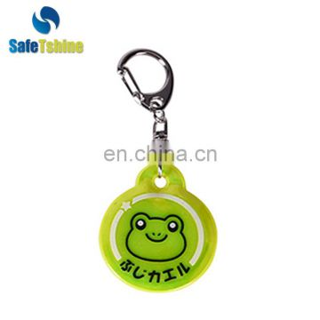 EN13566 Promotional Various Durable Using Cheap Reflective key chain
