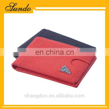 customized top grain genuine leather money clip wallet women wallet with money clip