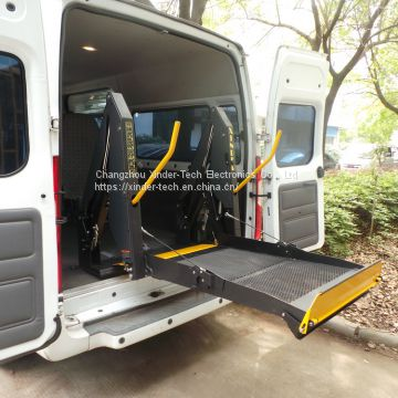 WL-D-880U Electric Wheelchair lifts for van on Bens vito