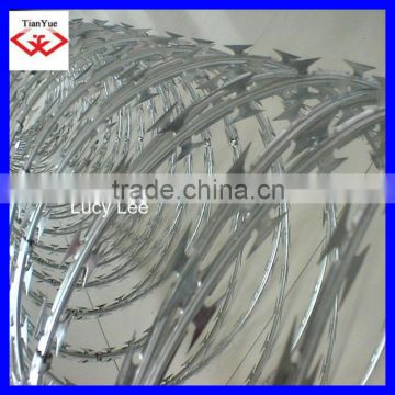 sell good hot dipped galvanized razor barbed wire, concertina wire, security wire mesh,BEST PRICE! Honest Manufacture from China