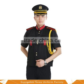 Processing custom pipe and marching band uniform of New