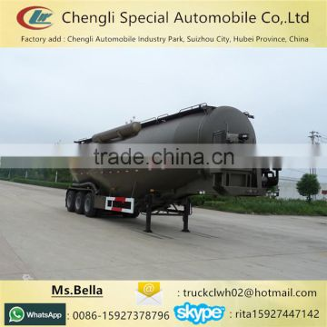 40-70m3 Bulk Powder Tanker Semi Trailer For Sale Bulk Cement Tank Trailer