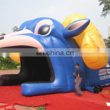 Giant InflatableI sheep mascot Tunnel/inflatable sport event tunnel /inflatable cartoon tunnel