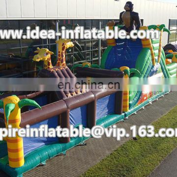 Custom obstacle course cheap price inflatable obstacle course ID-OB003