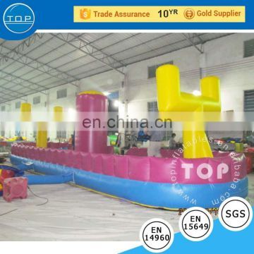 TOP inflation crazy water games interactive bungee run inflatable twister for wholesales