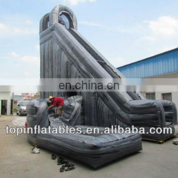 Giant New exciting inflatable super slide Water Ink inflatable hippo slide
