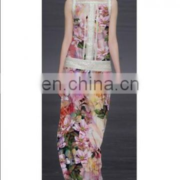 2014 New Style High-quality Digital Printed Rayon Fabric Free Sample