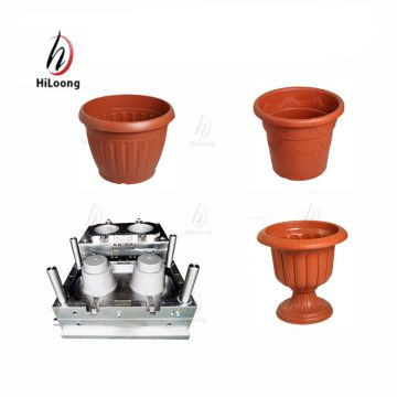 plastic injection molding taizhou plastic garden pot mould