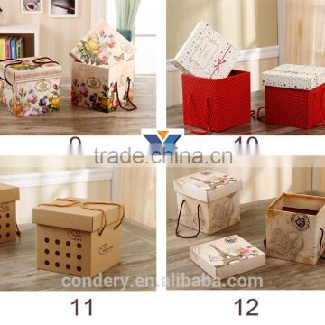 2016 Packing Boxes Custom square high quality wedding candy paper packaging cake gift boxes                                                                         Quality Choice                                                     Most Popular