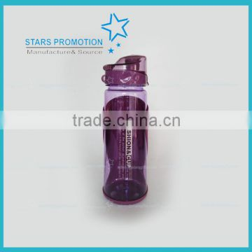 Wholesale custom plastic sports drinking bottle with filter screen