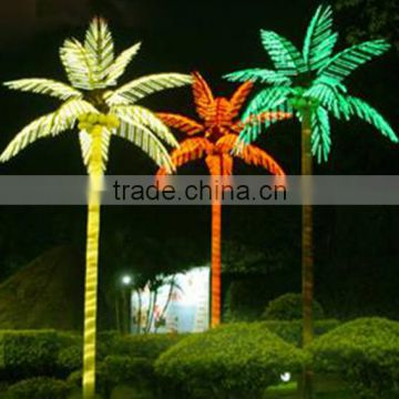 outdoor artificial fake decorative colorful street light tree LGH15-13