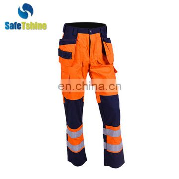 hi vis waterproof work wear trousers for men