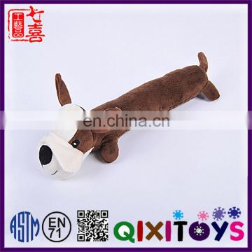 High quality plush soft dog toys custom made pet products with private label
