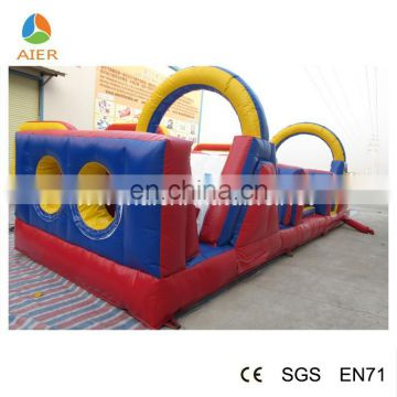 Mini inflatable obstacle course for adults | inflatable water obstacle course | outdoor obstacle course equipment for sale