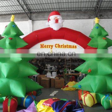Advertising inflatable Christmas tree Arch