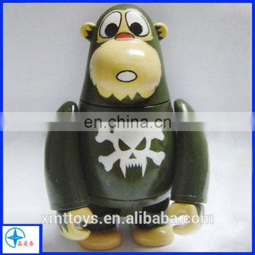 PVC orangutan figure toy,small plastic animal figures