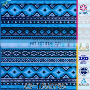 New Design Warp Soft Custom Print Fabric Digital