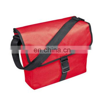Alibaba Italy Market messenger bag red color