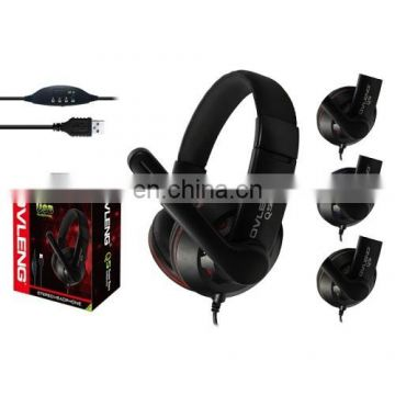 Universal Stereo Headset with Mic & Volume Control Key for All Audio Devices