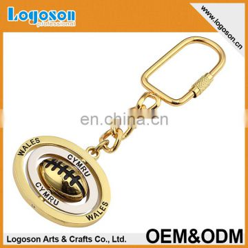 2015 newest high quality custom CYPRUS metal spinning keychain