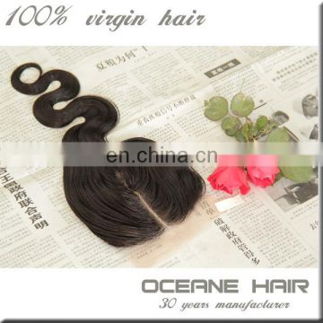 "18"" 5*5 wholesale cheap virgin peruvian hair lace front closures in stock"
