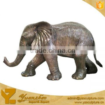 outdoor life size bronze elephant sculpture for sale