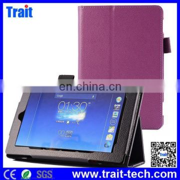 Wholesale Lichee Texture Pattern Side Flip Stand PU Leather Cover Case for Amazon Kindle Fire HD 7