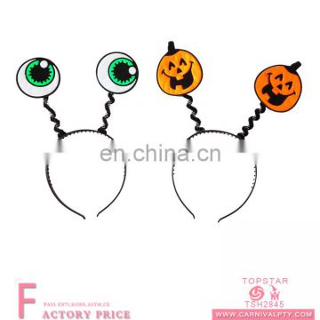 Assorted design unique plastic halloween adult headband for festival party
