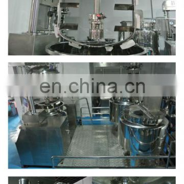 Full stainless steel cream mixing machines & shampoo mixing machine